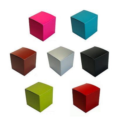 Tuck Top Box - 2 x 2 x 2 - COLOR