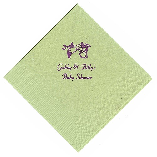 Personalised Napkins Wedding Favours Mince His Words