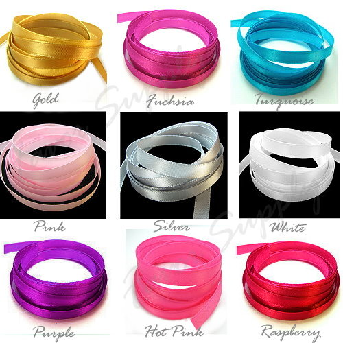 "Satin Ribbon - 1/4"" - 25 Yards"