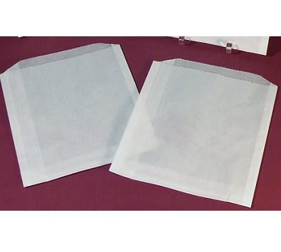 "Dry Waxed Treat Bags 6 x 6.5"" - 25 pcs"
